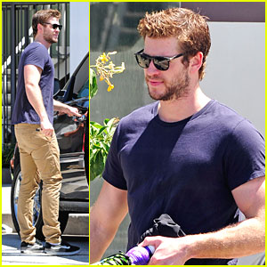 Liam Hemsworth: Gym Stop After Split Rumors