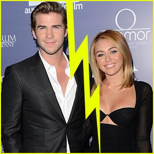 Miley Cyrus & Liam Hemsworth Break Up?