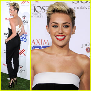 Miley Cyrus: Maxim Hot 100 Party!