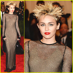 Miley Cyrus -- Met Ball 2013