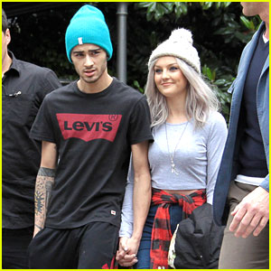 Zayn Malik & Perrie Edwards Hold Hands in Verona, Italy