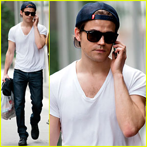Paul Wesley Loves Playing the Bad Guy!