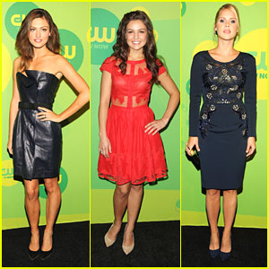Phoebe Tonkin & Danielle Campbell: 'The Originals' at CW Upfronts 2013