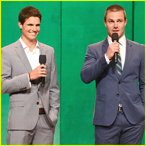 Robbie Amell: 'The Tomorrow People' at CW Upfronts 2013