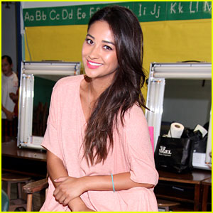 Shay Mitchell Joins Girl Power Day!
