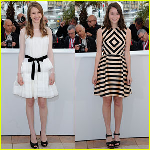 Taissa Farmiga & Katie Chang: 'Bling Ring' Photo Call at Cannes!