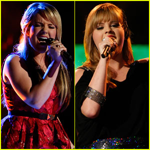 'The Voice' Top 12: Amber Carrington & Holly Tucker Perform - Watch Now!