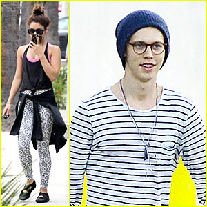 Vanessa Hudgens & Austin Butler: Separate L.A. Outings!