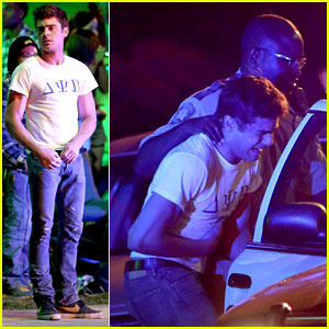 Zac Efron: Arrested for 'Townies' Scene