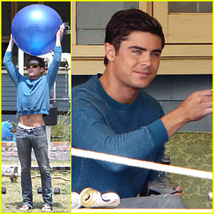 Zac Efron: 'Townies' Ball Toss