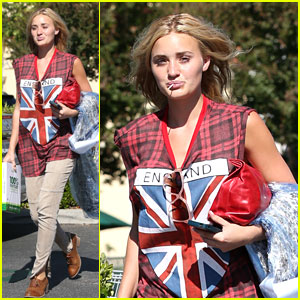 AJ Michalka: Lollipop Lovely in Calabasas
