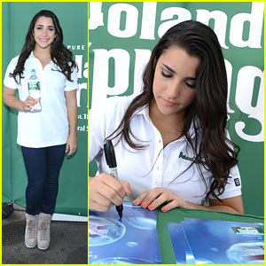 Aly Raisman: Meet & Greet with Poland Spring