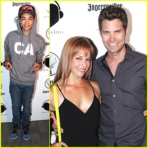 Drew Seeley & Amy Paffrath: Music Saves Lives with Roshon Fegan
