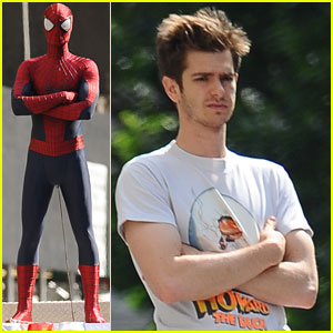 Andrew Garfield: Spidey Stunts in NYC!