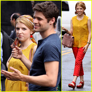 Anna Kendrick & Jeremy Jordan: 'Last Five Years' Set Pics!
