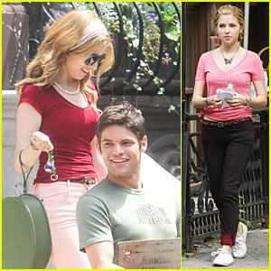 Anna Kendrick & Jeremy Jordan: 'Last 5 Years' Smiling Couple!