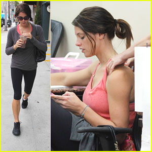 Ashley Greene: Mani, Pedi & Massage