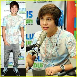 Austin Mahone: 'I Think Rihanna's Cute!'