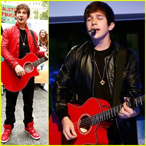 Austin Mahone: 'What About Love' on 'The Today Show' - Watch Now!