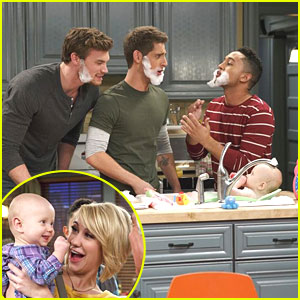 Jean-Luc Bilodeau & Derek Theler: Soapy Beards on 'Baby Daddy'