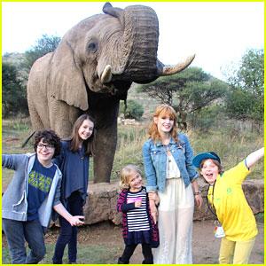 Bella Thorne & Emma Fuhrmann: Elephant Adventure in South Africa!