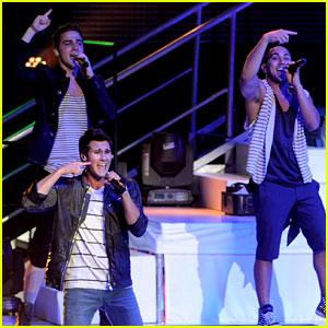Big Time Rush: First Summer Break Tour Performance!