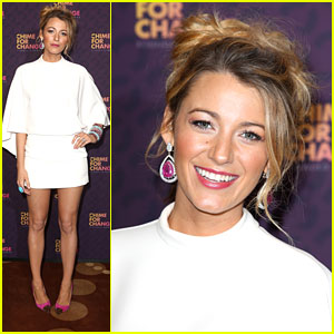 Blake Lively: Chime For Change Live Concert