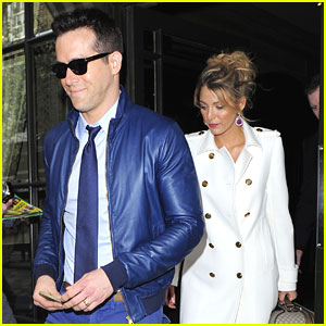 Blake Lively: Hotel Exit with Husband Ryan Reynolds