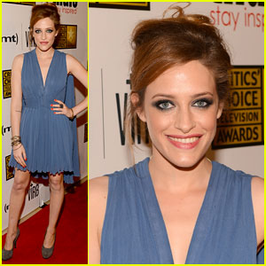 Carly Chaikin: Critics' Choice TV Awards 2013