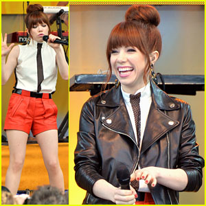 Carly Rae Jepsen: 'Call Me Maybe' on GMA - Watch Now!