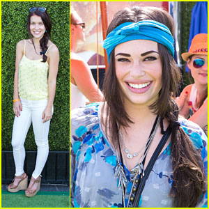 Chloe Bridges & Nathalia Ramos: Just Jared's Summer Kickoff Party 2013