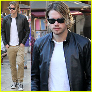 Chord Overstreet Grabs Dinner at The Grove
