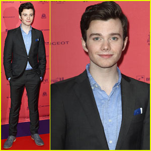 Chris Colfer: 'Struck by Lightning' Paris Premiere