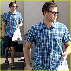 Cory Monteith: Lunch to Go!