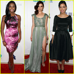 Crystal Reed & Coco Jones: Thirst Gala with Christian Serratos