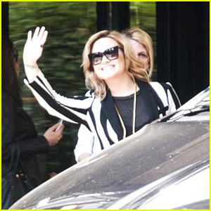 Demi Lovato Promotes 'Demi' in Milan