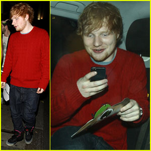 Ed Sheeran Excited to Be Back in the UK