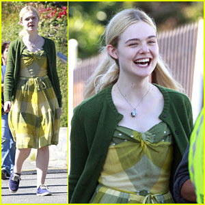 Elle Fanning: Girl In The Green Dress