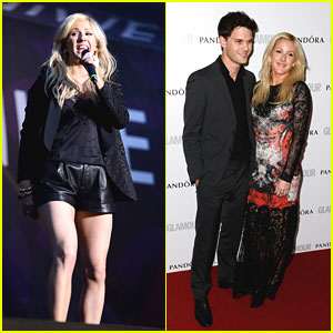 Ellie Goulding & Jeremy Irvine: Glamour Women of the Year Awards 2013