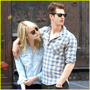 Emma Stone & Andrew Garfield: Lunch Lovers in NYC