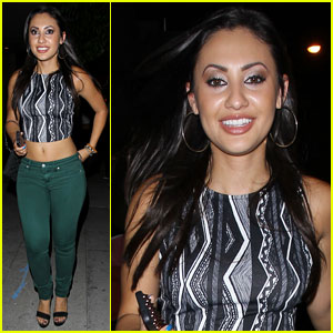 Francia Raisa Steps Out After 'Secret Life' Series Finale