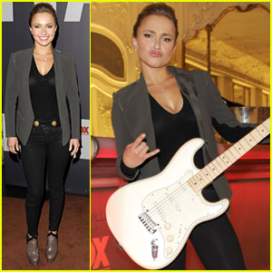 Hayden Panettiere Attends 'Nashville' Screening in Germany