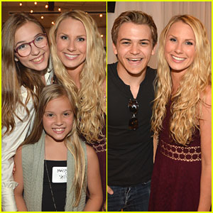 Hunter Hayes: CAA BBQ with Lennon & Maisy Stella