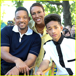 Jaden Smith: 'Good Morning America' with Dad Will