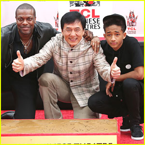 Jaden Smith: Jackie Chan's Handprint Ceremony