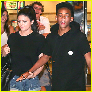 Jaden Smith & Kylie Jenner: Holding Hands at the Movies!