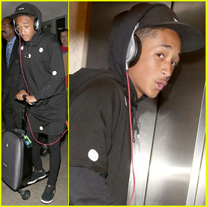 Jaden Smith: LAX Arrival with Brother Trey