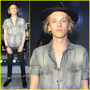 Jamie Campbell Bower: 'Diesel Black Gold' Front Row