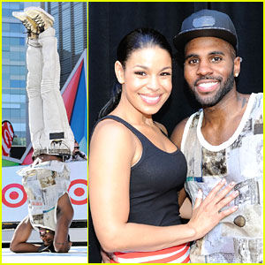 Jason Derulo: Headstand at BET Experience with Jordin Sparks!