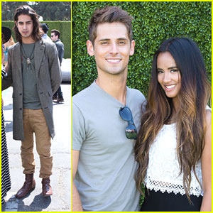 Jean-Luc Bilodeau & Avan Jogia: Just Jared's Summer Kickoff Party 2013